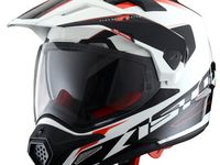 Шлем CROSS TOURER ADVENTURE white black