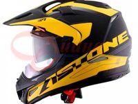 Шлем CROSS TOURER ADVENTURE  white yellow black